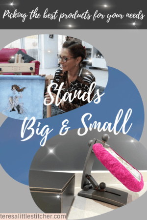 cross stitch and needlework stands